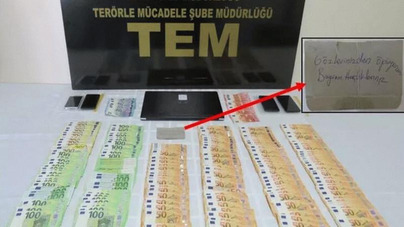 """FETÖ'den aranan çiften ilginç mesaj! Evinde bulunan para çantasında """"Bayram harçlıklarınız"""" notu çıktı"""