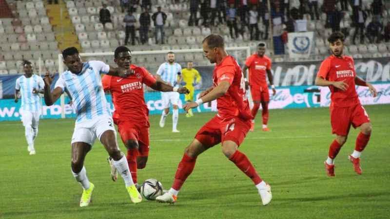 TFF 1. Lig: BB Erzurumspor: 0 - Ümraniyespor: 2 (Maç sonucu)