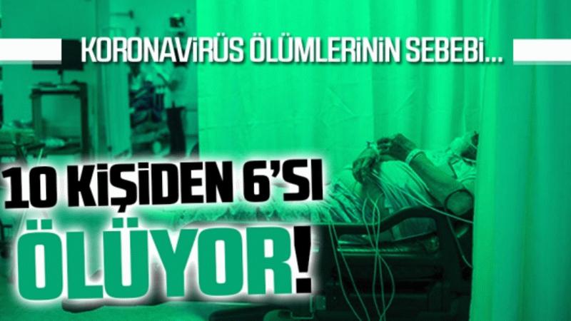 Doç. Dr. Gülseren Elay açıklıyor! Covid-19'da ölüm nedenleri...
