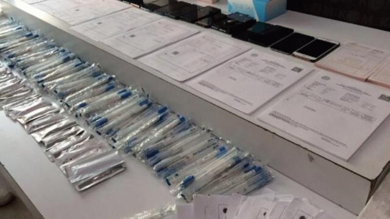Sahte koronavirüs sonucu satan çeteye ikinci operasyon!