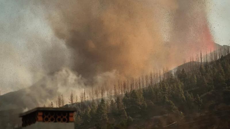 La Palma Adası'nda patlama! 5 bin kişi tahliye ediliyor!