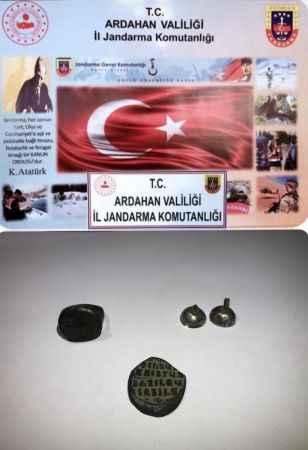 Ardahan'da Roma ve Bizans dönemine ait tarihi eserler ele geçirildi