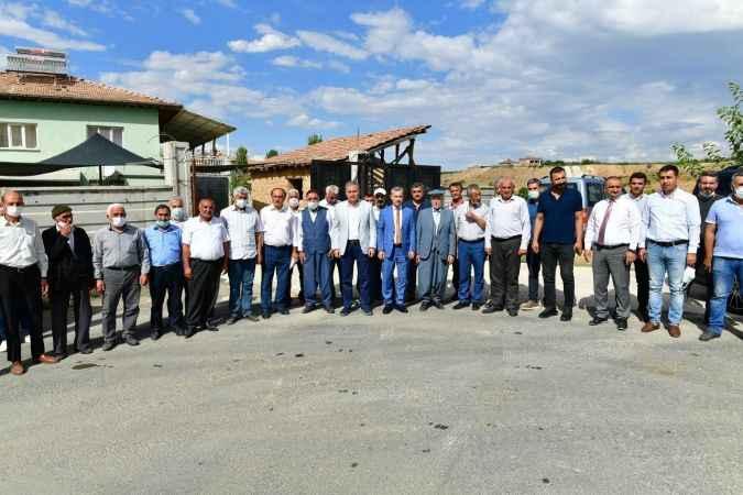 Milletvekili Çakır ile Başkan Çınar, Şahnahan sakinleriyle buluştu