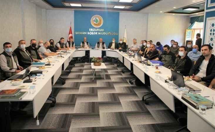 Erzurum Orman Bölge Müdürlüğünde Bilgilendirme Toplantısı !