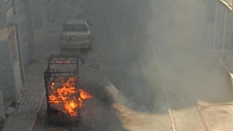 Suriyelilere ait ev ve araçlar yakıldı!