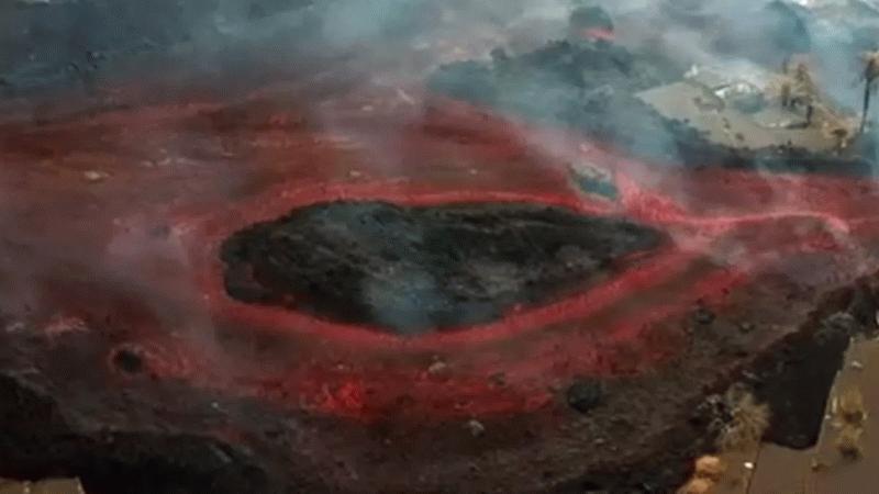 La Palma Yanardağı onlarca evi yuttu! Lavlar harekete geçti!