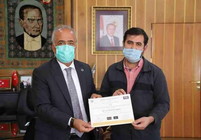 Veterinerlik alanındaki uluslararası başarılar ödüllendirildi