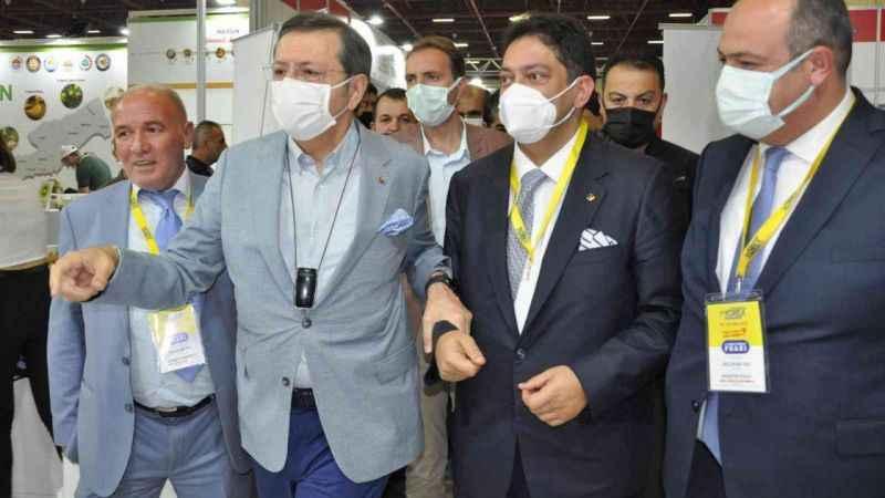 11.Yörex fuarına Erzurum Ticaret Borsası damgası