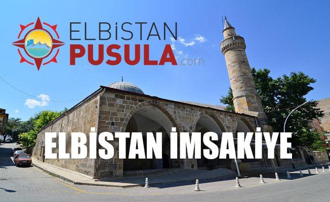 Elbistan Ramazan İmsakiyesi 2018