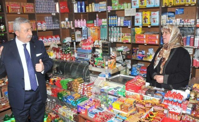 """TESK Başkanı Palandöken: """"Gross market çılgınlığına dur denmeli"""""""