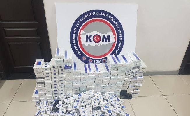 Mersin'de 3 bin 955 paket gümrük kaçağı sigara ele geçirildi