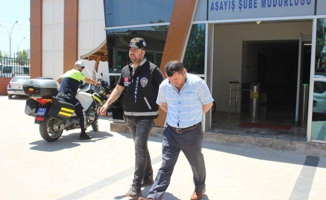 Kocaeli'de otomobil hırsızlığı: 1 tutuklu