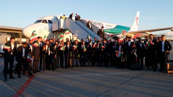 Rusya'ya giden ilk takım İran oldu