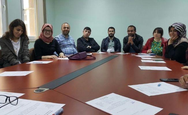 MŞÜ Öğretim Üyeleri diskalkuli çalışması başlattı