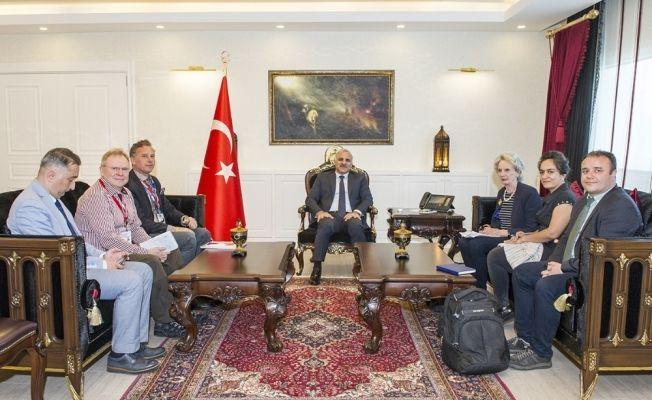 Avrupa güvenlik ve işbirliği teşkilatı heyeti, Vali Zorluoğlu'nu ziyaret etti