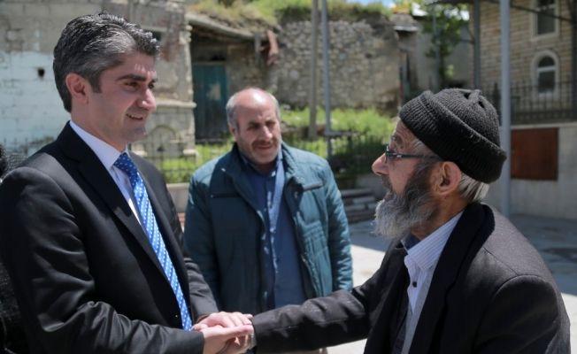 """Tarıkdaroğlu: """"AK Parti; eğitim, yatırım, üretim ve kalkınma demektir"""""""
