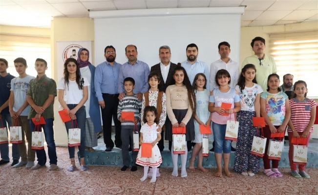 Mardin'de musiki yarışmasında dereceye giren öğrenciler ödüllendirildi