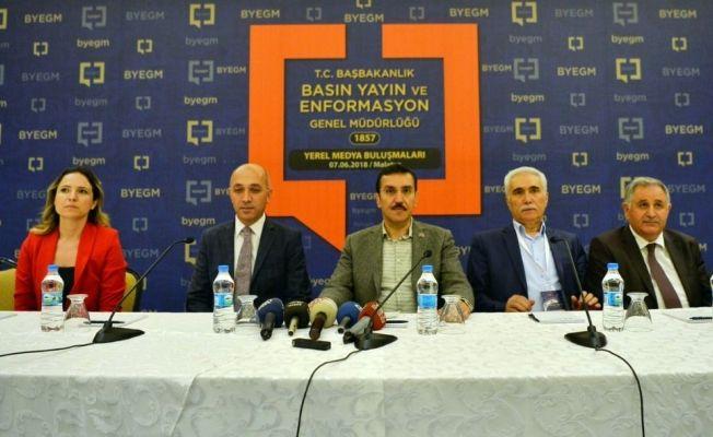 """Bakan Tüfenkci: """"AK Parti iktidarları boyunca Türkiye her alanda 3,5 kat büyüdü"""""""