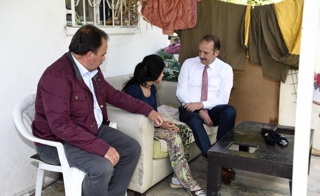 Akgül'den evlere ziyaret
