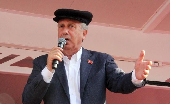 CHP Cumhurbaşkanı Adayı Muharrem İnce Kastamonu'da