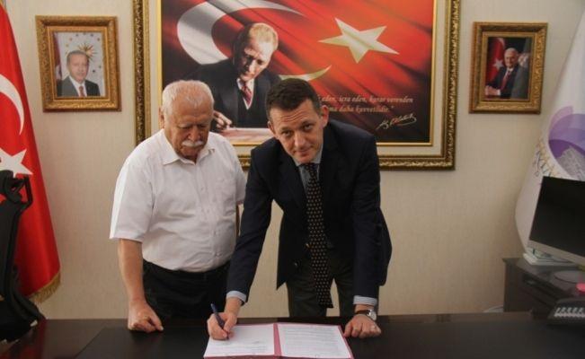 Leyla Dizdar Kültür Merkezi yapım protokolü imzalandı