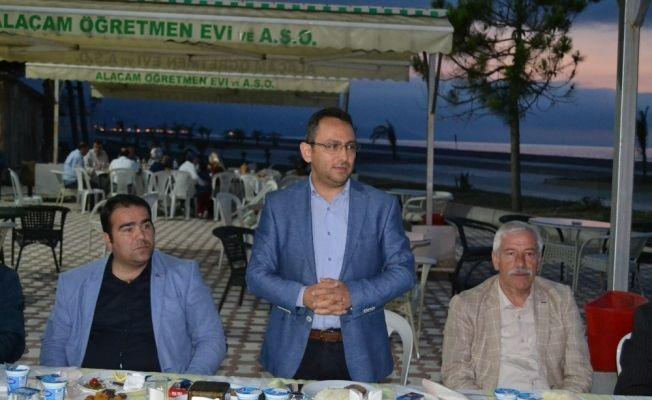 Alaçam'da gaziler ve şehit ailelerine iftar