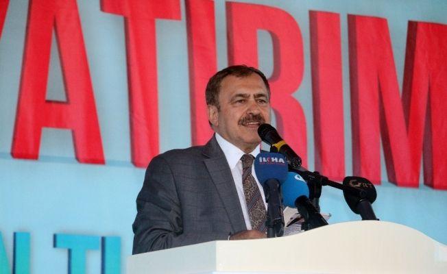 Bakan Eroğlu'ndan Gaziantep'e 668 milyon TL yatırım müjdesi