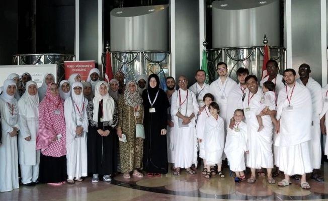ABD'den umre için Suudi Arabistan gittiler