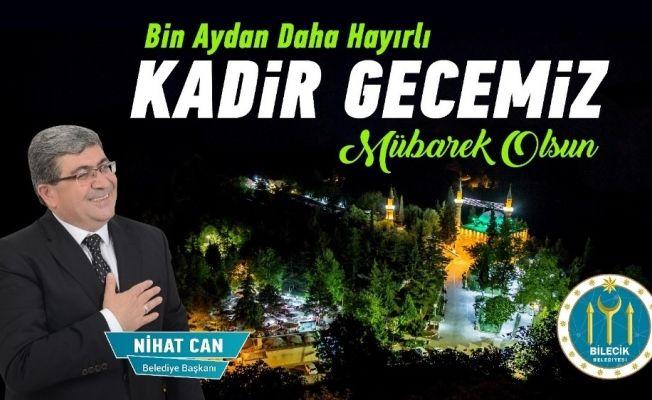 Başkan Can'ın Kadir Gecesi mesajı