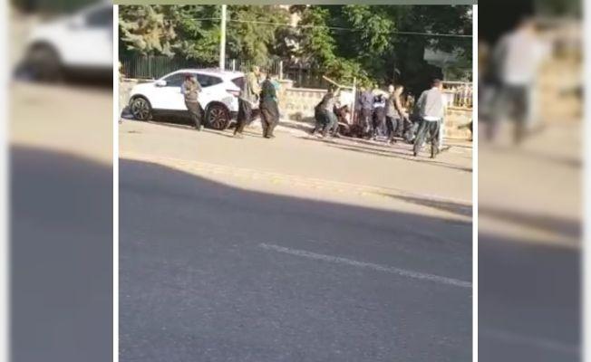 Siverek'te 1 kişinin öldüğü 6 kişinin yaralandığı kavga kamaraya yansıdı