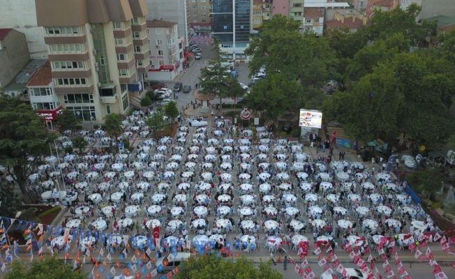 Büyükşehir Belediyesi'nden Orhangazi'de iftar