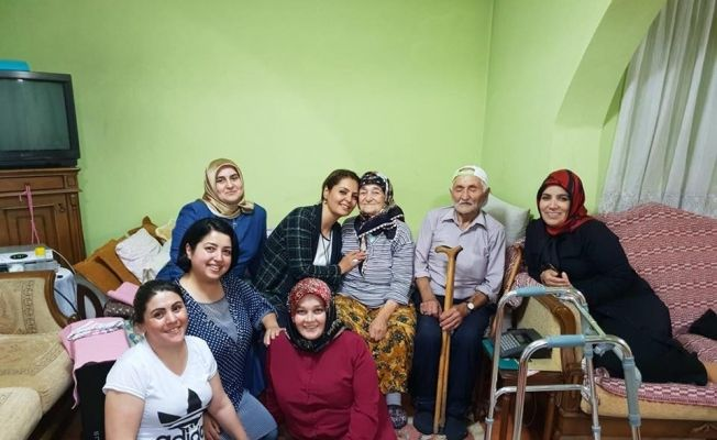 Giresun'da AK kadınların seçim çalışması