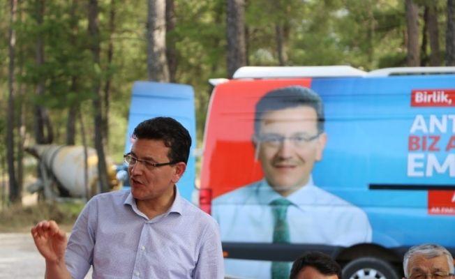 AK Parti Milletvekili Uslu'dan Kaş ziyareti