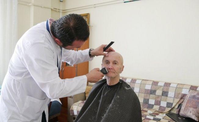 Büyükçekmece Belediyesi'nde evde bayram tıraşı hizmeti