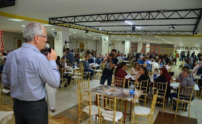Dinar Belediye personeli geleneksel iftar yemeğinde buluştu
