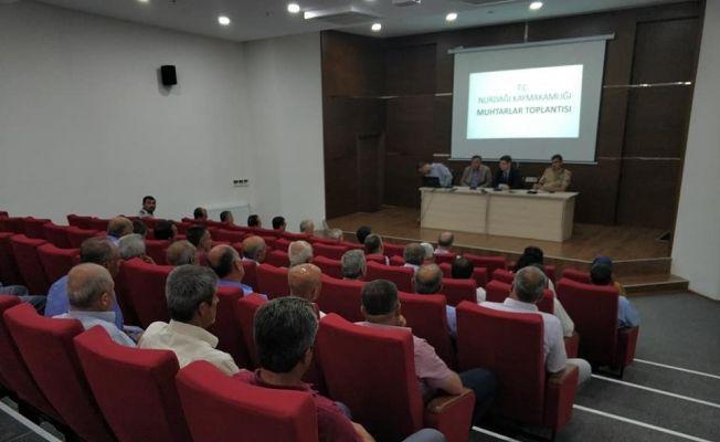 Nurdağı'nda bayram öncesi güvenlik toplantısı
