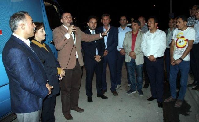 AK Parti, Meydan Mahallesi'nde seçim irtibat bürosu açtı
