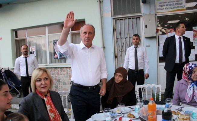 Muharrem İnce, köyünde iftar yemeği verdi