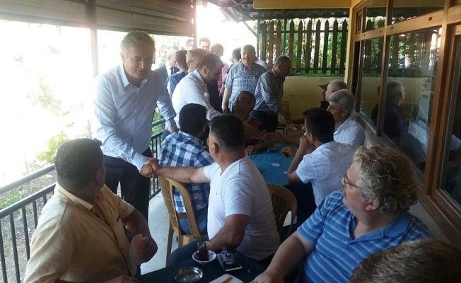 MHP adayları, Bayat ve Sücüllü'de halk ile bayramlaştı