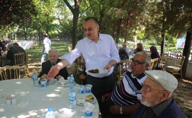 Edirne'de en özel bayramlaşma