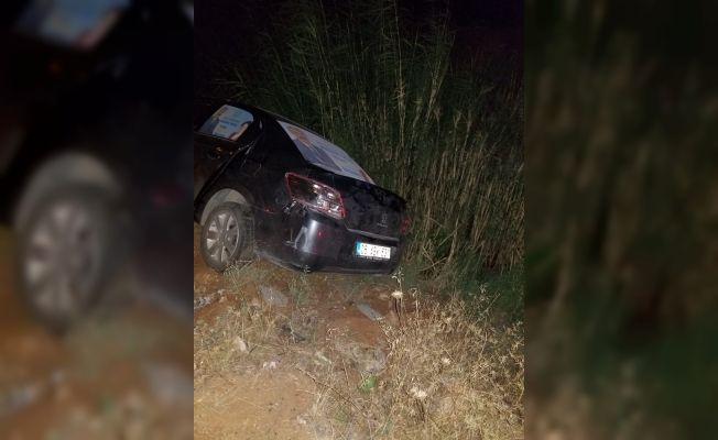 Milletvekili adayı kaza yaptı