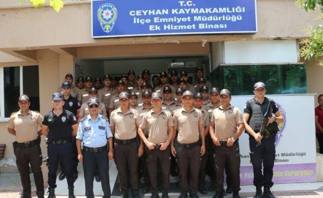 Ceyhan'da 50 bekçi göreve başladı