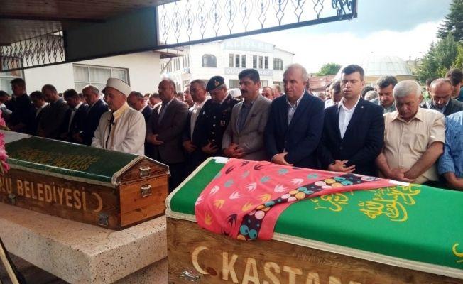 Kastamonu'daki kazada hayatlarını kaybedenler toprağa verildi