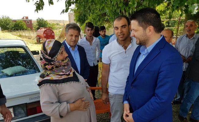 Muhammet Fatih Toprak seçim çalışmalarını sürdürüyor