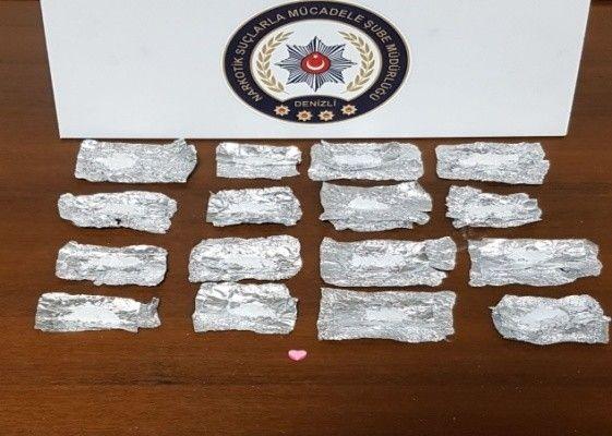 Denizli emniyeti 20 günlük narkotik operasyon verilerini açıkladı