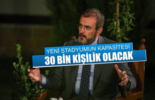 Kahramanmaraş'a, Türkiye'nin ilk multifonksiyonel stadı yapılacak