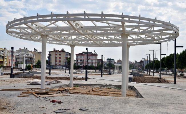 Kepez Kent Meydanı Projesi devam ediyor