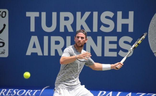 Antalya Open'da Monfils ve Mannarino yarı finalde