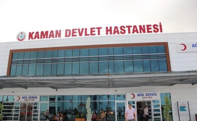 20 günde Kaman Devlet Hastanesine 12 bin 120 başvuru