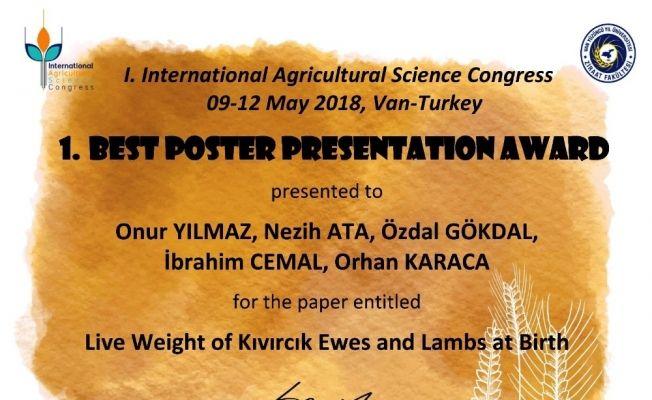 'En İyi Poster' ödülü ADÜ'ye